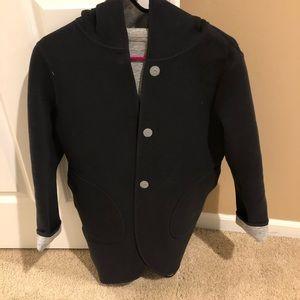Lululemon Reversable Jacket /coat Grey/black